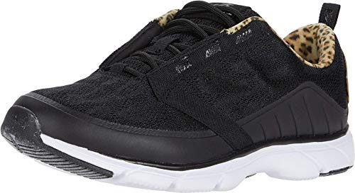 Avia Women's Avi-Virtue Walking Shoe, Black, 7.5 M US