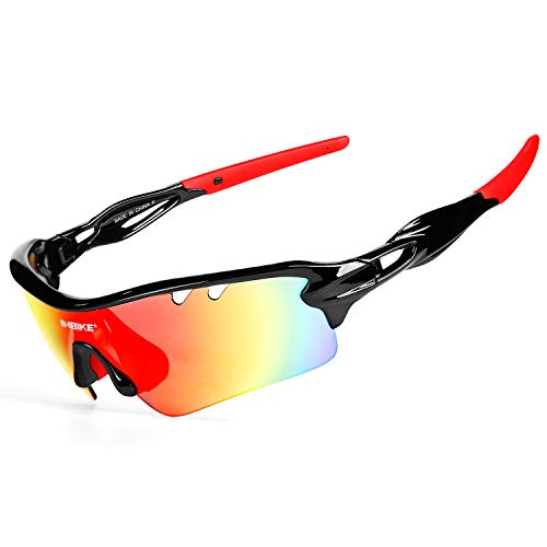 Inbike Gafas de Sol Polarizadas Para Ciclismo con 5 Lentes I