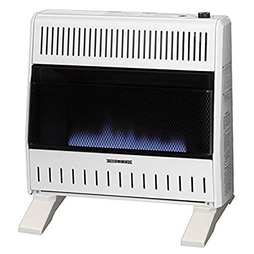 Pro Com Dual Fuel Blue Flame Ventless Wall Heater...