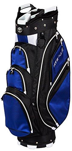 Hot-Z Golf 4.5 Cart Bag (Black/Navy/White)