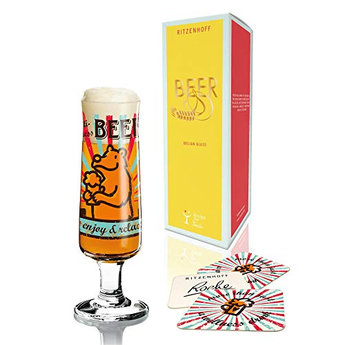 RITZENHOFF New Beer Design, Verre À Bière avec Rond À Bière, 30 Cl, Automne 2014, Stephanie Roehe, 3220008