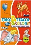 Dumbo-Bambi. Staccattacca e colora special. Ediz. illustrata (Staccattacca & colora)