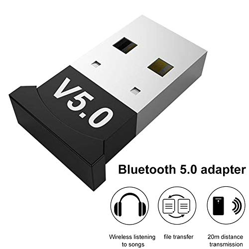 Nakw88 Adaptador Bluetooth Música Estable Accesorios Conector Dongle TV Inalámbrico PC Hogar Mini Audio USB Bluetooth 5.0 Transmisor Receptor Ordenador