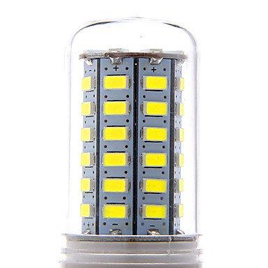 WELSUN Ampoule Maïs Blanc Chaud/Blanc Froid E14 / G9 / E26/E27 8 W 56 SMD 5730 500-600 LM AC 100-240 V (Connector : E26/E27, Light Source Color : Blanc Chaud)