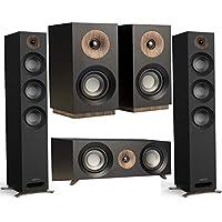 Jamo S 809 Floorstanding Speakers With Center / Bookshelf Speakers (Black / Pair)