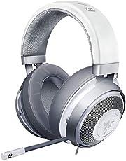 Razer Kraken Mercury White ゲーミングヘッドセット 3.5mm 冷却パッド PS4 PS5 PC Switch スマホ【日本正規代理店保証品】 RZ04-02830400-R3M1