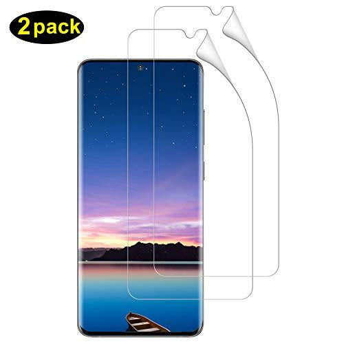 DOSMUNG Schutzfolie für Galaxy S20 Plus, (2 Pack) [Blasenfreie] [Anti-Kratzer] [volle Abdeckung] [Ultra-Klar] HD Bildschirmschutzfolie Weich TPU Folie für Samsung Galaxy S20 Plus (Nicht Panzerglas)