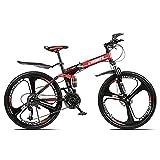 Bicicleta de montaña plegable para deportes al aire libre,