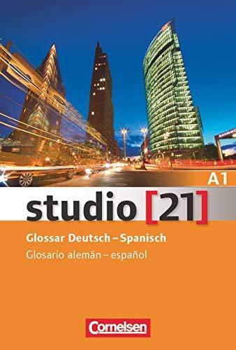 Studio 21 A1 Vocabulario Alemán español: Glossar...