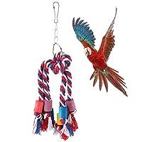 オウムチューおもちゃ、オウム登山おもちゃ、ペットの鳥の鳥のための明るいバリなし