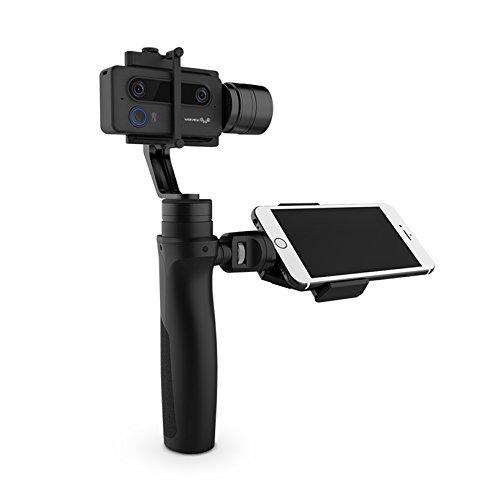 WEEVIEW SID 3D-Kamera Mini 3D WLAN-Videokamera mit optionalem Handstabilisator/Gimbal (Kamera & Gimbal)