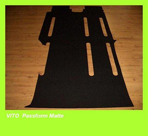 Gumteppich für Vito W639 lang 9 Sitzer ohne Schienensystem #391