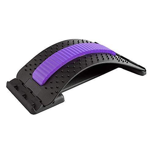 HOOMAGIC Rückenstrecker Rückendehner Verstellbarer Rückenmassage Unterstützung...