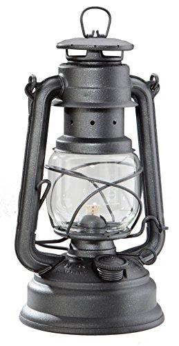 FEUERHAND Special 276 verzinkt Petroleumlampe Sturmlaterne / anthrazit glänzend / NEU