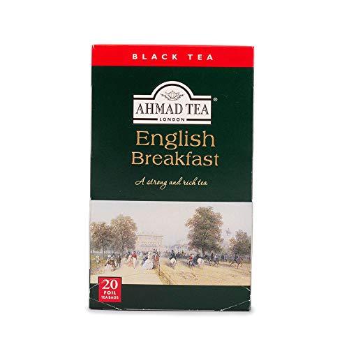 Ahmad Tea English Breakfast Tea, 20-Count Boxes (Pack of 6)