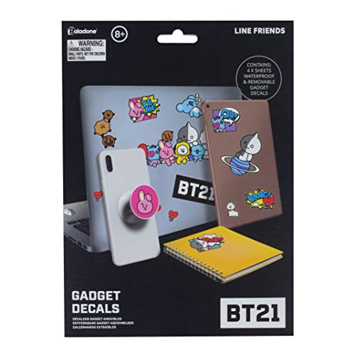 Paladone Products BT21 Gadget Decals Iconic Characters album sticker