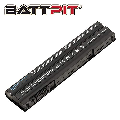 BattPit Laptop Battery for Dell Latitude E5420 E5430 E5530 E6420 E6430 E6440 E6520 E6530 E6540 Vostro 3460 3560 T54FJ T54F3 8858X NHXVW PRRRF NHXVW 911MD 04NW9 M5Y0X - [6-Cell/4400mAh/49Wh]
