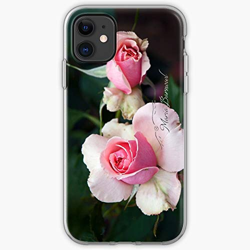 Blossom Rose Pink Blossoms Flower Blooming Bloom Roses | Phone Case for iPhone 11, iPhone 11 Pro, iPhone XR, iPhone 7/8 / SE 2020