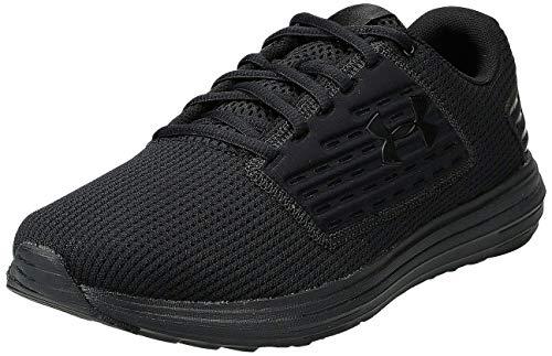 Under Armour Men's Surge SE Running Shoe, Black (003)/Black, 12.5