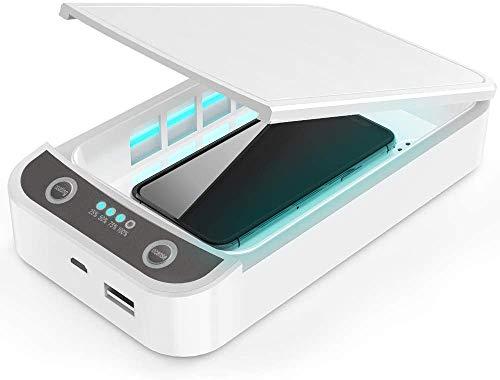 PROtastic UV-Desinfektionsmittel-Box, ideal für die Sterilisation von Telefon/Schlüssel/Geldbörsen/Geld etc., Stromversorgung über USB, automatischer Timer