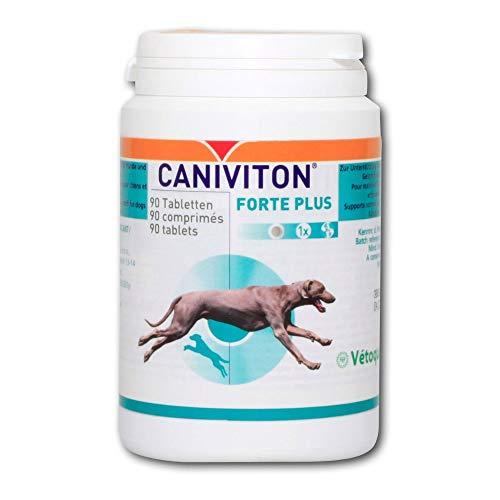 Vetoquinol - Caniviton forte plus Complément alimentaire pour chien - 90 Comprimés
