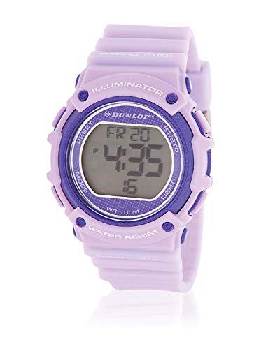 Dunlop Reloj Digital para Unisex Adultos de Cuarzo con Correa en Acero Inoxidable DUN249L09