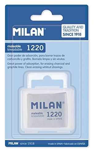 MILAN Blíster 1 goma maleable 1220 en cajita (BCM1220C)