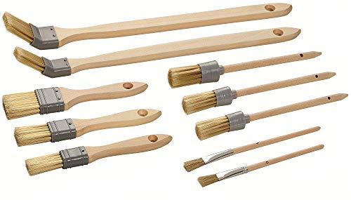 Color Expert 82620715 Malerpinsel Set Pinselset 10 teilig, FSC Zertifiziert, Stück