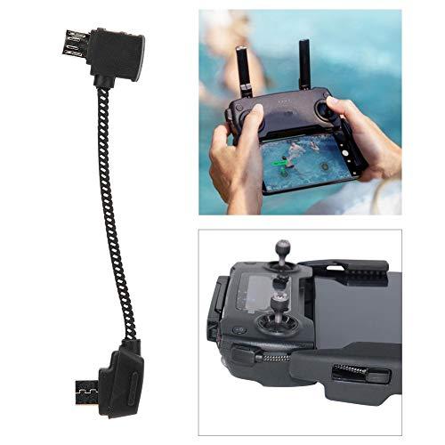 RC USB-Kabel, USB-Kabel Verbindungskabel Fernbedienung Upgrade Ersatzteil Kompatibel mit Mavic Pro Drone(Micro-USB-Reverse-Schnittstelle)
