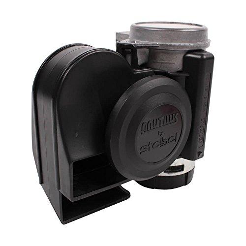 Stebel 11690019  Nautilus Compact Mini Air Horn Black