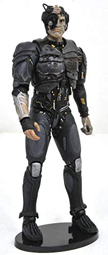 DIAMOND SELECT TOYS Star Trek Select: Borg Drone Action Figure, Grey/Black/Silver