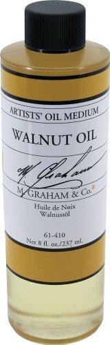 M. Graham 8-Ounce Walnut Oil Medium