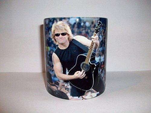 Jon Bon Jovi Becher Music memorabilia