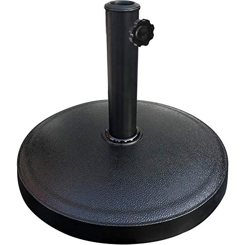 EliteShade Umbrella Base Stand Patio Outdoor Heavy Duty Umbrella Holder,Black