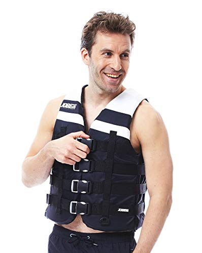 Jobe Progress 4Buckle Vest Black Salvavidas Boot–Chaleco de Agua