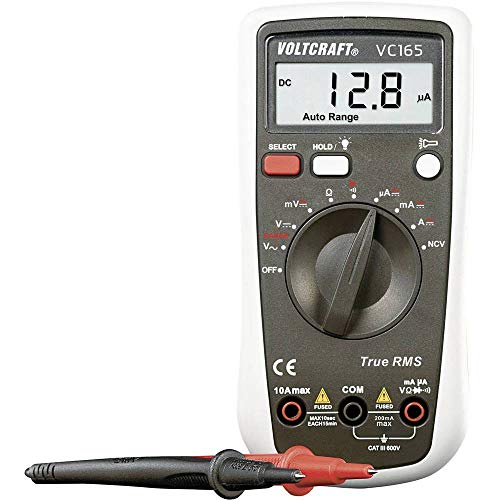 Multimeter Tragbar Digital Voltcraft VC165 Cat III 600 V Anzeige (Counts): 2000