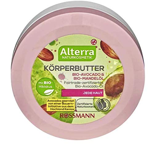 Körperbutter Bio-Avocado & Bio-Mandelöl - Naturkosmetik - 200 ml