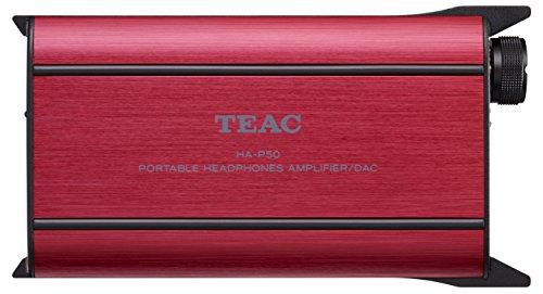 Teac HA-P50-R TEAC Amplificador de auriculares portátil USB/DAC HA-P50-R