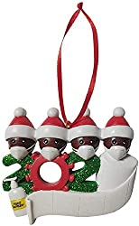 Quarantine Novelty Gifts Family Ornament Holiday