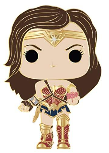 Funko Pop! Pin: DC - Wonder Woman (estilos pueden variar) multicolor, 9,5 cm