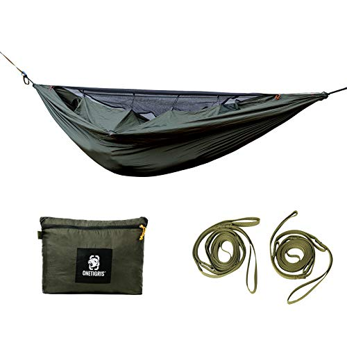 Photo of OneTigris KOMPOUND Camping Hammock with Bug Net & Warm Cover