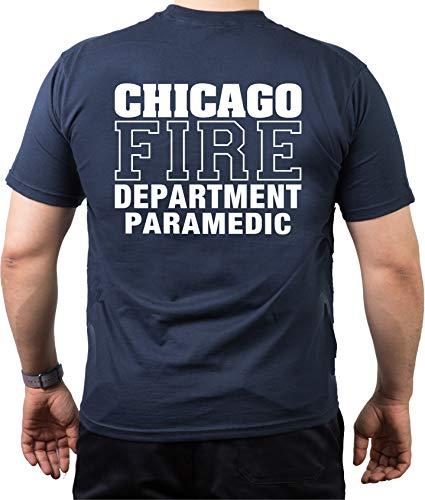 Chicago Fire Dept. Paramedic T-shirt Bleu marine Taille 3XL