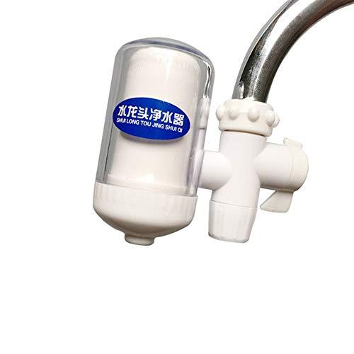 LiuliuBull W Wasserfilter Hauptwasserhahnfilter Wasseraufbereiter Portable hohem Wirkungsgrad Wasserfilter for den Haushalt (Color : White, Size : XL)