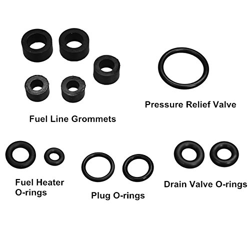 yjracing Fuel Bowl Reseal Kit W/Vibra-Locs Fit for 1998-2003 7.3 Ford Powerstroke Diesel