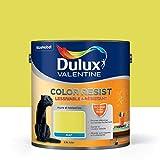 Peinture Color Resist Dulux Valentine - Lessivable et resistante pour Murs & Boiseries - aspect Mat Topaze Verte 2,5 L - Dulux Valentine