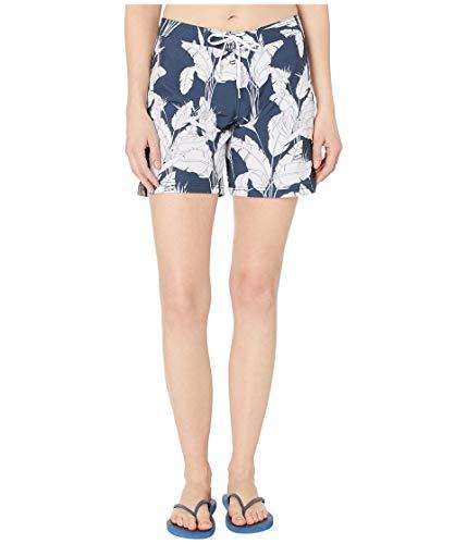 Roxy Damen to Dye 7 Inch Boardshorts, Mood Indigo Flying Flowers Probe, Large