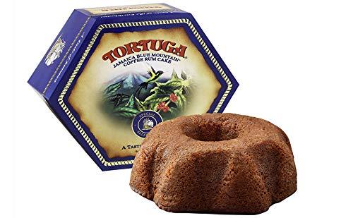 TORTUGA Caribbean Blue Mountain Rum Cake - 4 oz Rum Cake - The Perfect Premium Gourmet Gift for Gift...