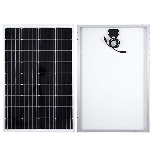 Betop-camp 100W 12V Solar Panel monokristalline Photovoltaik-PV-Modul für das Aufladen eines 12V in Wohnmobil, Wohnwagen,Boot oder Yacht, oder Off-Grid