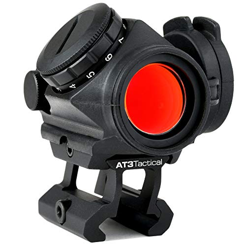 AT3 Tactical RD-50 PRO Red Dot Sight with .83' Riser - for...