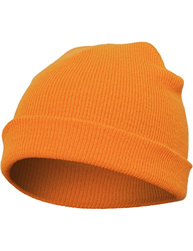 Flexfit Mütze Heavyweight Beanie, blaze orange, one size, 1500KC-00581-0050